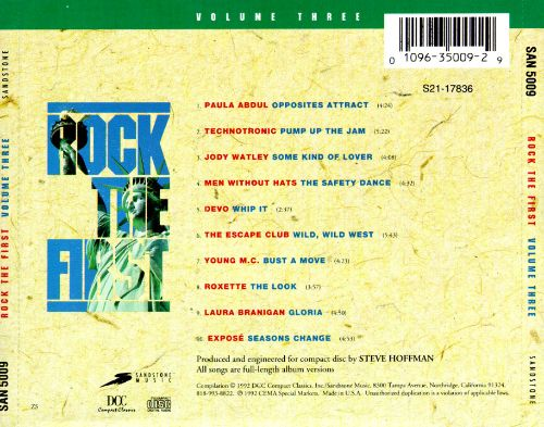 Rock the First, Vol. 3
