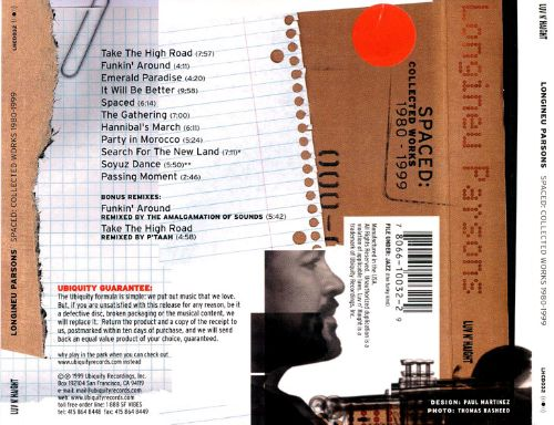 Spaced: Collected Works 1980-1999