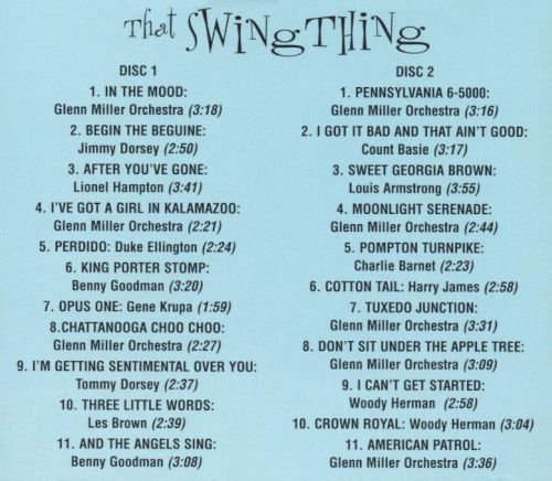 Hot Hits: That Swing Thing