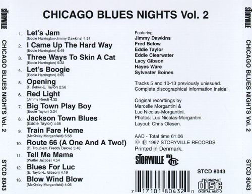 Chicago Blues Nights, Vol. 2
