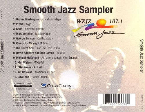 Smooth Jazz Sampler