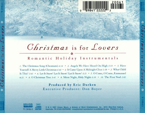 Christmas Is for Lovers [Unison]