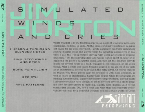 Simulated Winds and Cries