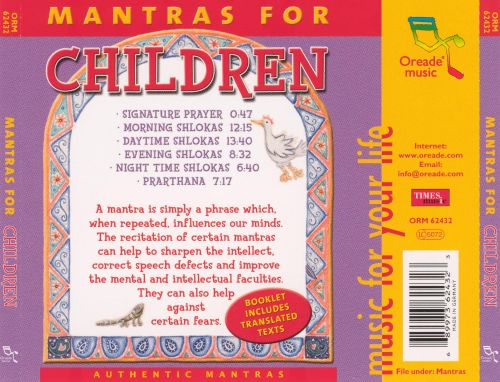 Mantras for Children and Young Adults