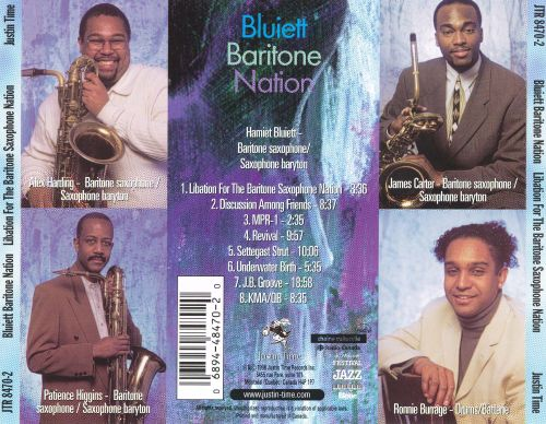Libation for the Baritone Saxophone Nation