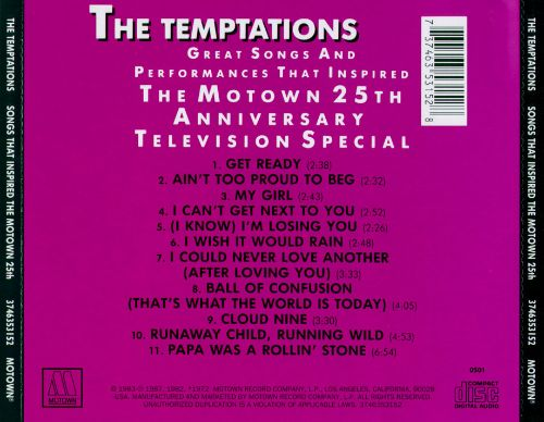 Songs That Inspired the Motown 25th