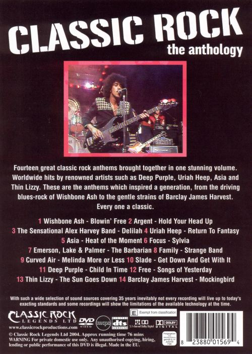 Classic Rock Anthology, Vol. 2