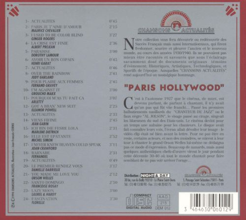Paris Hollywood [Chansons Actualities ]