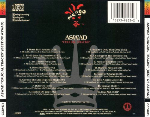 Crucial Tracks: The Best of Aswad