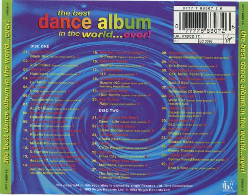 The Best Dance Album in the World...Ever! [1993]