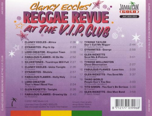 Reggae Revue at the VIP Club, Vol. 3