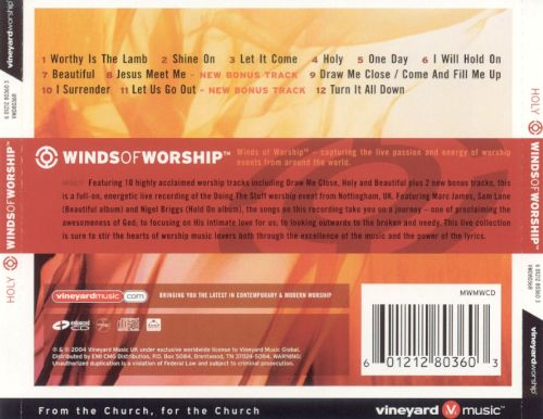 Winds of Worship: Holy