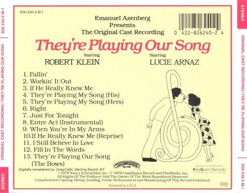 They're Playing Our Song [Original Cast]