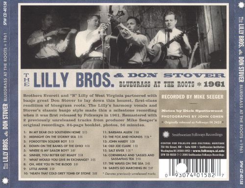 Bluegrass at the Roots: 1961