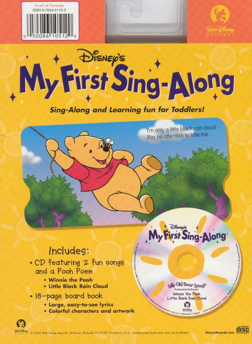 My First Sing-Along: Silly Old Bear Songs