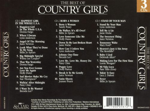 The Best of Country Girls