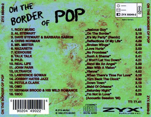 On the Border of Pop