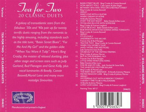 20 Classic Duets: Tea For Two