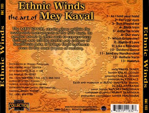 Ethnic Winds: The Art of Mey Kaval