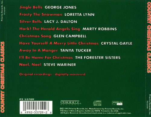 Country Christmas Classics [Priority]