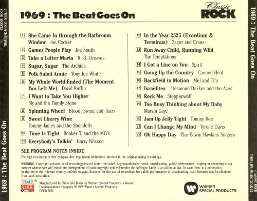 Classic Rock: 1969 - The Beat Goes On