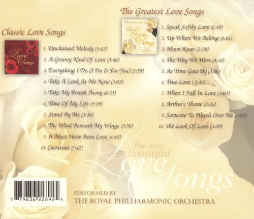 The Most Beautiful Love Songs [Direct Source]