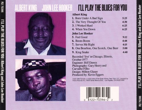 I'll Play the Blues for You [1977]