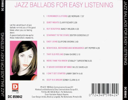 Jazz Ballads for Easy Listening