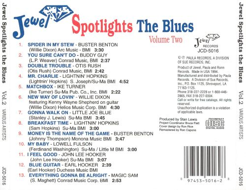 Jewel Spotlights the Blues, Vol. 2