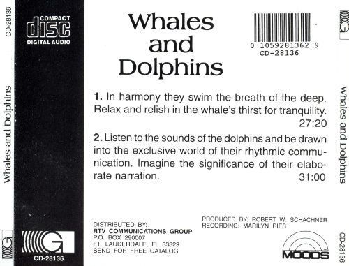 Voices of the Earth: Whales & Dolphins