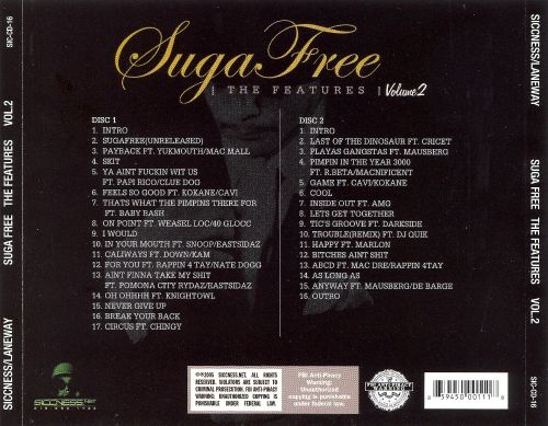Suga Free - The Features