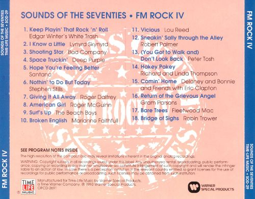Sounds of the Seventies: FM Rock, Vol. 4