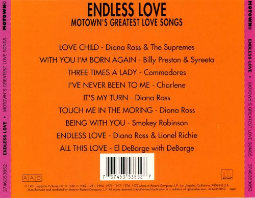 Great Motown Love Songs - Three Times a Lady