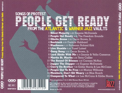 People Get Ready: Protest Songs from the Atlantic & Warner Jazz Vaults