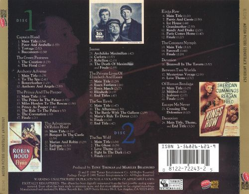 Warner Bros. Years: Motion Picture Soundtrack Anthology