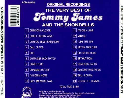 The Best of Tommy James & the Shondells [Roulette]