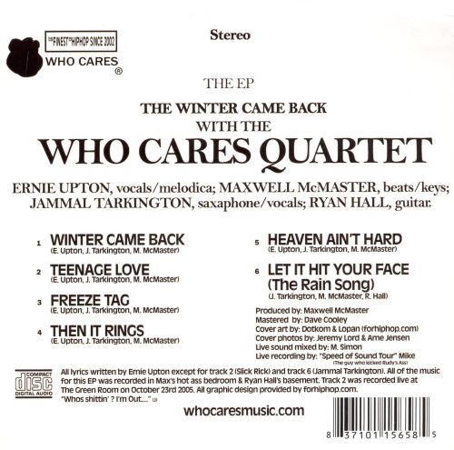 The Winter Came Back [EP]