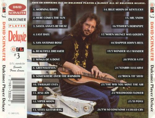 Dulcimer Player Deluxe