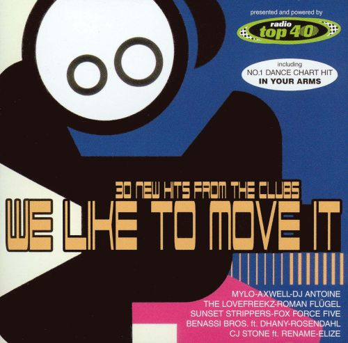 We Like To Move It Various Artists