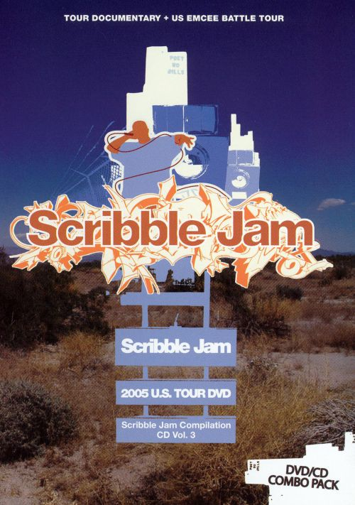 Scribble Jam DVD Tour Documentary + CD Compilation, Vol. 3 [DVD/CD]