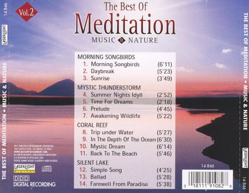 Best of Meditation: Music & Nature, Vol. 2