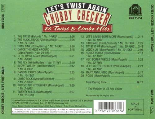 Let's Twist Again: 20 Twist & Limbo Hits