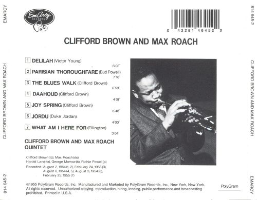 Clifford Brown Albums: songs, discography, biography, and ...