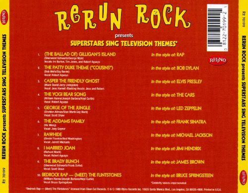 Rerun Rock: Superstars Sing Television Themes