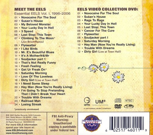 meet the eels song list