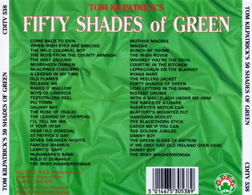 Fifty Shades of Green - Tom Kilpatrick | Songs, Reviews, Credits ...