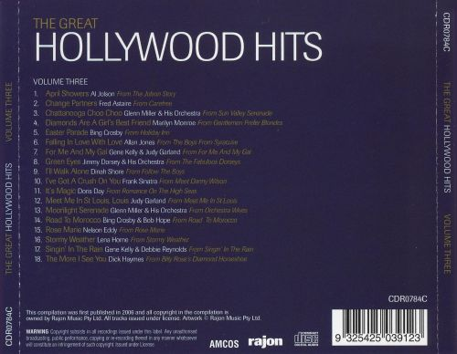 The Great Hollywood Hits, Vol. 3