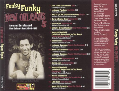 Funky Funky New Orleans, Vol. 5