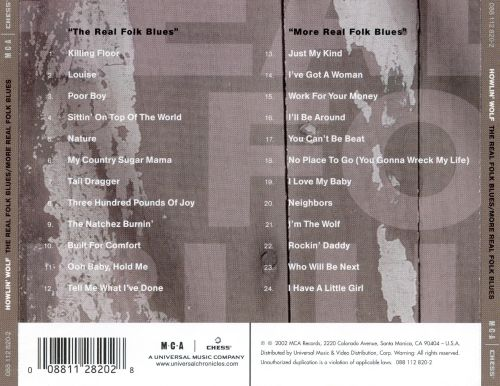 The Real Folk Blues/More Real Folk Blues