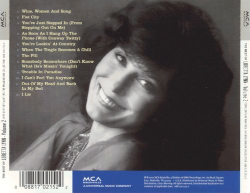 20th Century Masters - The Millennium Collection: The Best of Loretta Lynn, Vol. 2